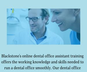 dental office assistant image