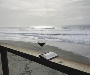 mood, sea, and wine image