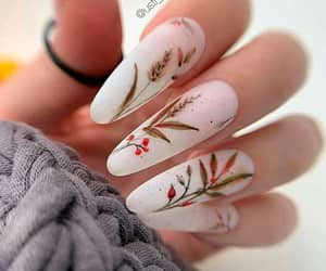 autumn, nail art, and manicure nails image