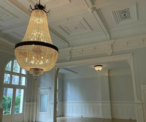 beautiful, chandelier, and designing image