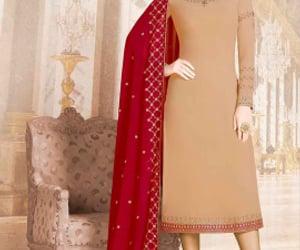 suit, salwar kameez, and patiala suit image