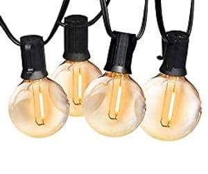 camping string lights image