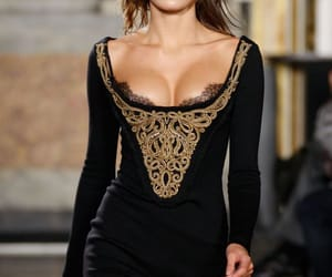 dress, fashion, and fashion week image