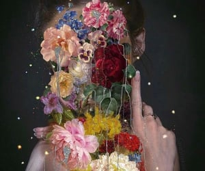 arte, beauty, and Collage image