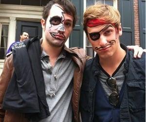 Halloween, boy, and custume image