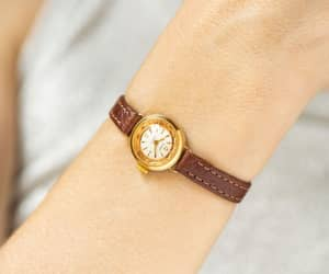 etsy, anniversary gift, and gold woman watch image