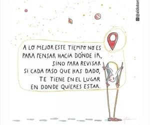 camino, vida, and frases español image