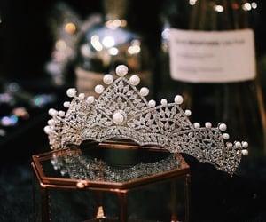 tiara, crown, and luxury image