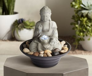 Buddha, decoration, and tabletop image
