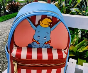 backpack, blue, and dumbo image