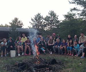 overnight summer camp and sleepway camps image