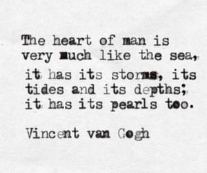 man, vincent van gogh, and quote image