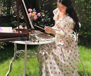 art, fashion, and garden image