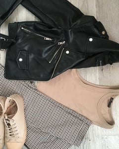 fall outfit, ootd, and otd image
