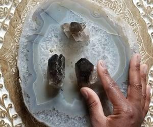 crystal, quartz, and crystal cluster image