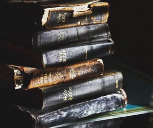 aesthetic, book, and antique image
