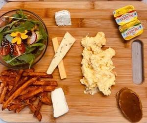 brunch, salad, and vegetarian image