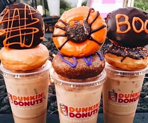 Halloween, donuts, and autumn image