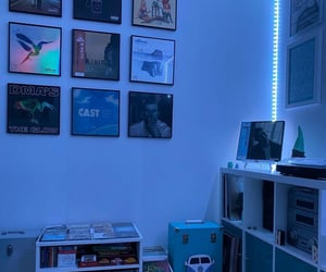 aesthetic, music, and room image
