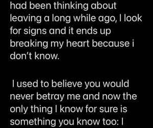 breakup, you left, and quote image
