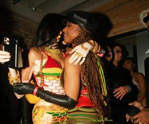 black women, melanin, and celebrities image