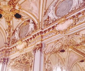 architecture, pink, and baroque image