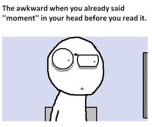 awkward, moment, and funny image