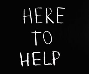 chalkboard, help, and helpful image