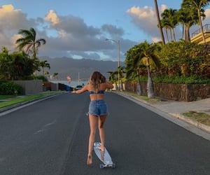 beach, skate, and tiktok image