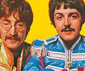 john lennon, Paul McCartney, and music image