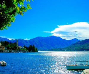 beautiful places, blue sky, and boats image