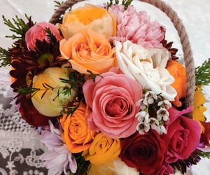 beauty, birthday, and flowers image
