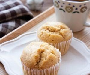 coffee, cupcake, and teatime image