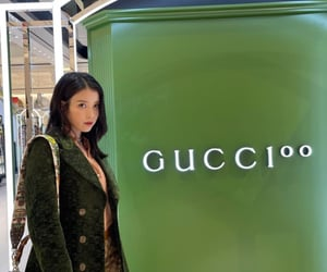green, kpop, and gucci image