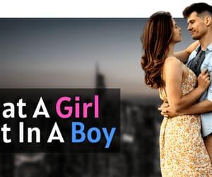 boy, girl. love, and boy want girl image