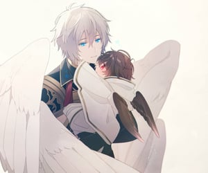 baby, wings, and sandalphon image