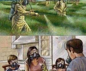 agriculture, comparison, and toxic image
