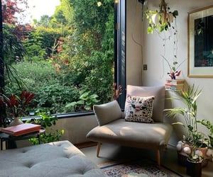 home, interior design, and window image