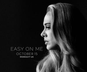 Adele, singer, and easy on me image