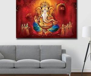 lord ganesha, canvasartprints, and canvasartforsale image
