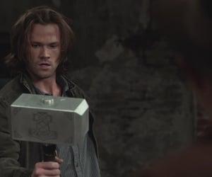 jared padalecki, sam winchester, and supernatural image