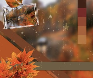 aesthetic, autumn, and edit image