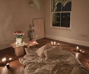 home, bedroom, and comfy image