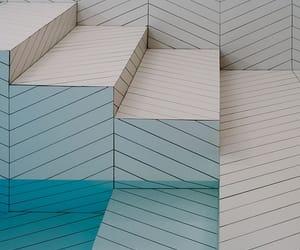 architecture, blue, and future image