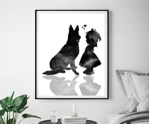 etsy, christmas gift, and baby and dog image