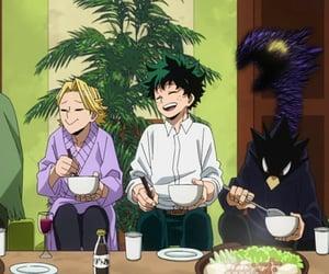 anime, mha, and kaminari denki image