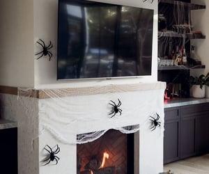 Halloween, interior decorating, and interior design image
