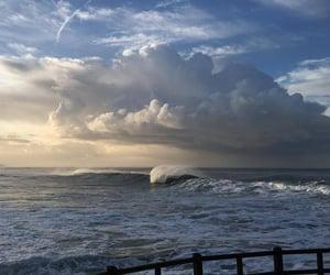 aesthetic, sea, and sunrise image