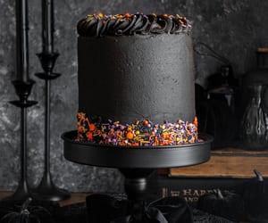 Black Velvet Halloween Cake | In Bloom Bakery