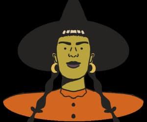 art, Halloween, and hat image